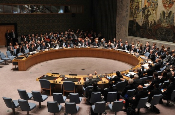 UN-GENERAL ASSEMBLY-SYRIA-SECURITY COUNCIL